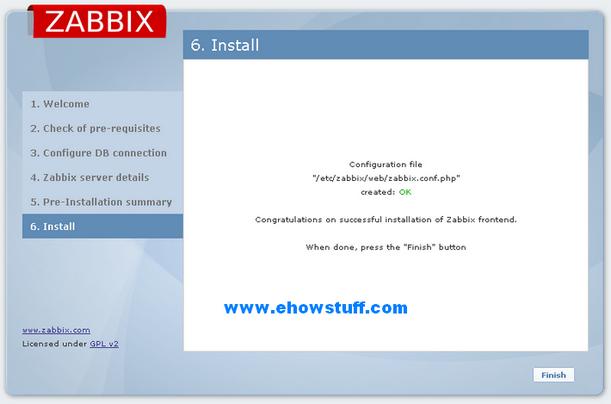 setup zabbix-6