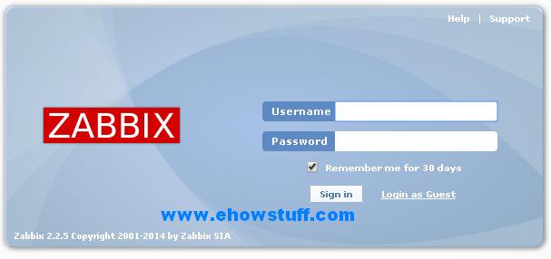 setup zabbix-7